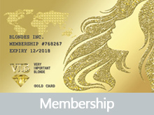 Blonde Inc membership